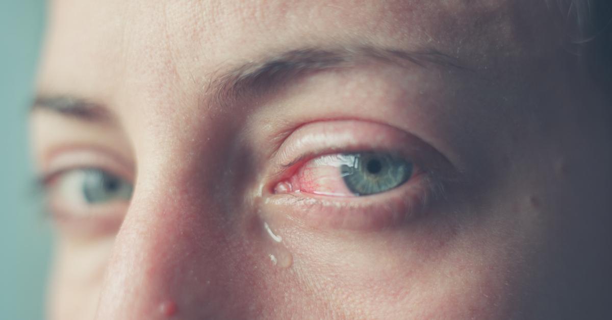 Miksi ihminen itkee?